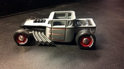 custom hot wheels boneshaker