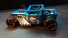 Custom Hot wheels Bone shaker