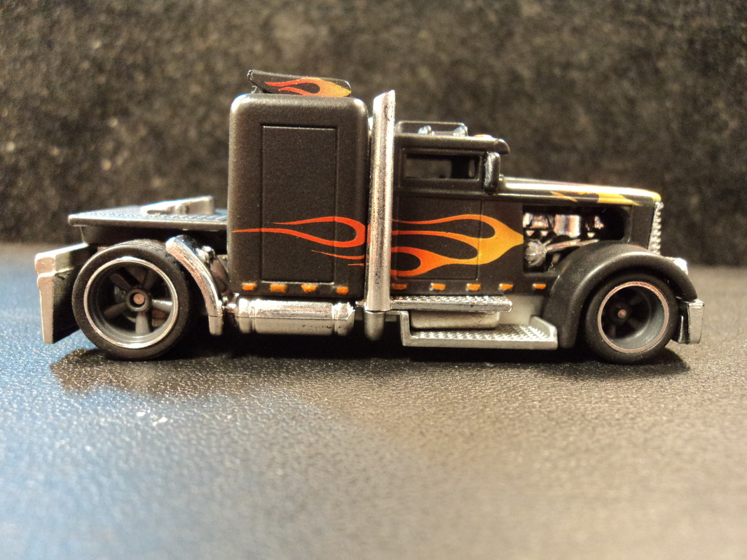 Custom Hot wheels Convoy Custom - Dads Custom Creations and Airbrush
