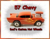 57 Chevy custom Hot wheels
