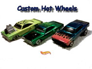 Custom hot wheels by dads customs