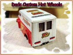 Got Jesus custom hot wheels dairy delivery airbrushed diecast car