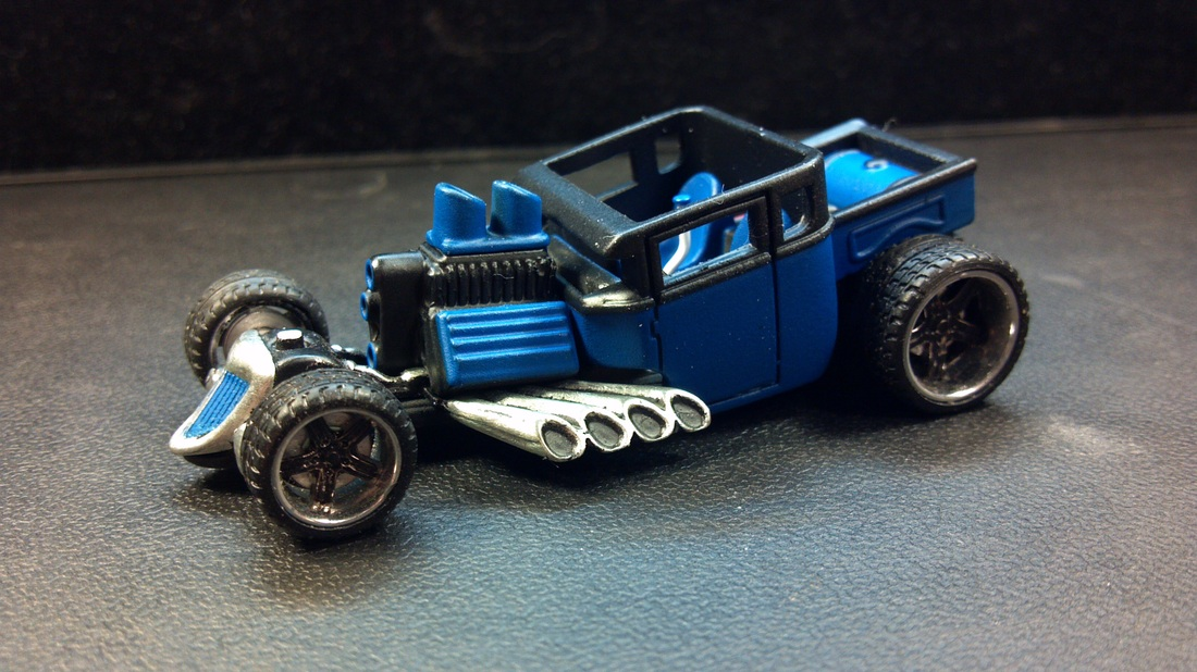 Custom hot wheels bone shaker, customized bone shaker, custom hot wheels