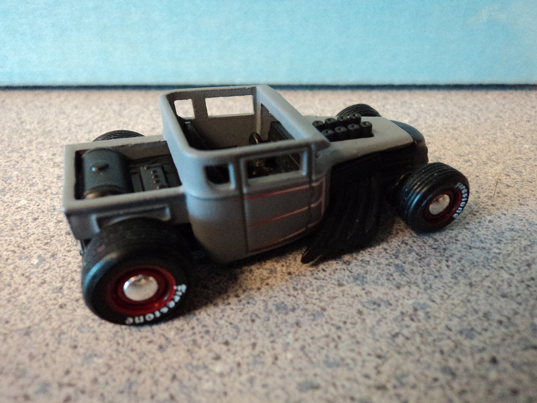 Custom Hot wheels Rat rods - Dads Custom Creations and Airbrush