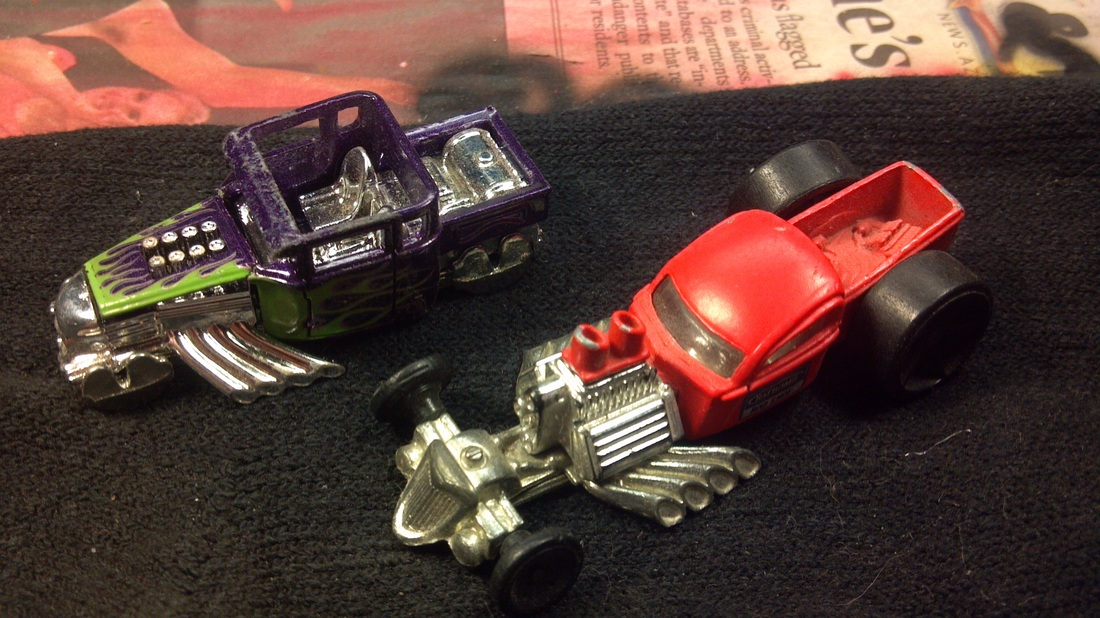 custom hot wheels bone shaker,customized bone shaker,rat rod bone shaker