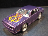 Customized 86 Monte carlo SS hot wheels die cast car
