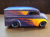 Custom airbrushed hot wheels dairy delivery hot wheels die cast car
