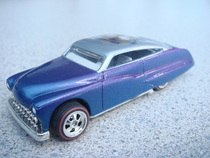 Flamed custom airbrushed purple passion  hot wheels die cast ca