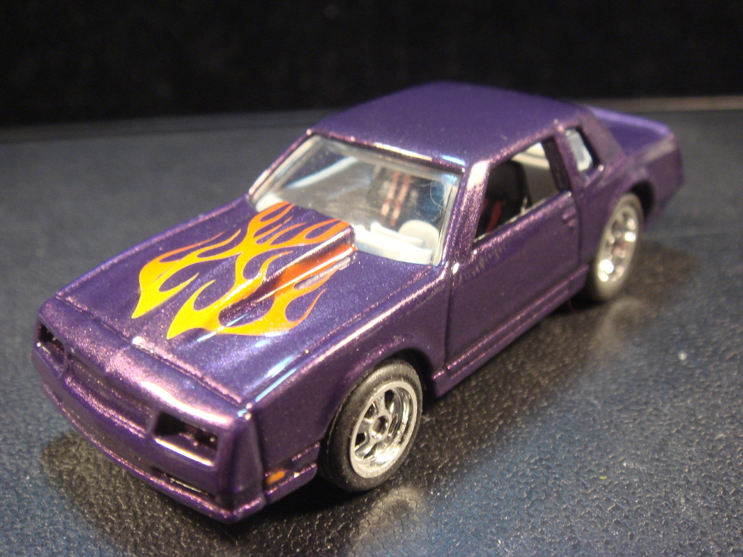 Custom Hot Wheels 86 Monte Carlo Ss Dads Custom