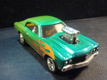 ustomized 70 chevelle hot wheels die cast car