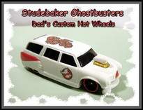 custom hot wheels studebakers airbrushed diecast cars